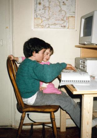 Jim Catts, computer